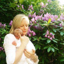 Ins Blog schreiben ist wie Wehen wegatmen – meine Eltern zu Besuch im Wochenbett