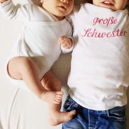 Zu viert – wie ist das eigentlich wenn ein Geschwisterkind kommt