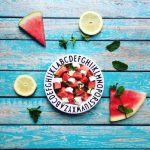 Bauernsalat mal anders: Melonensalat mit Schafskäse & Minze