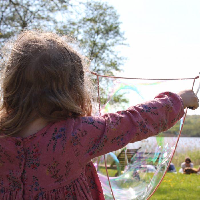riesenseifenblasen kinder