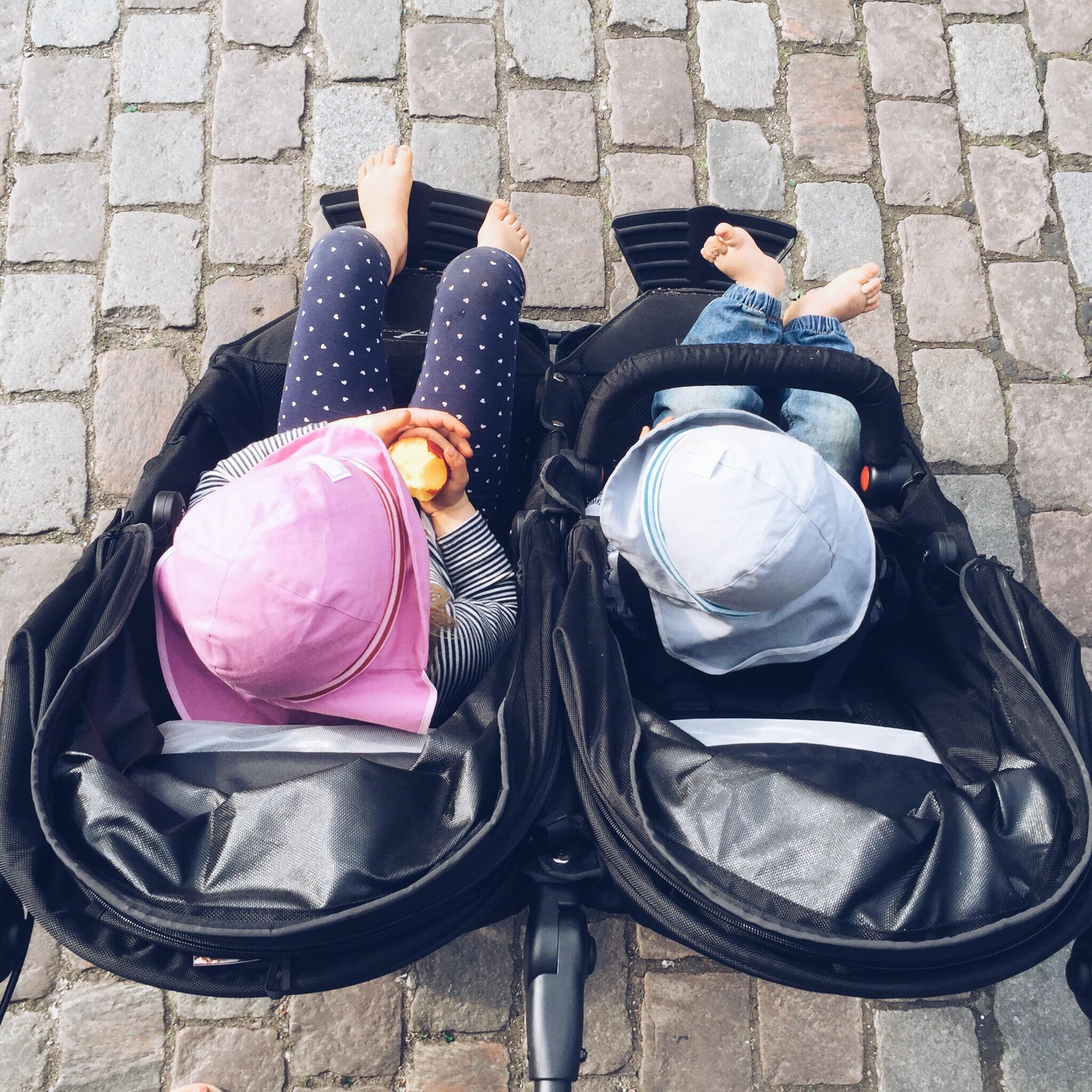 Zwillingskinderwagen tfk  Geschwisterkinderwagen ja oder nein? Der TfK Twinner Lite im Test ...