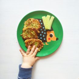 Baby Lead Weaning Rezept Zucchini Puffer