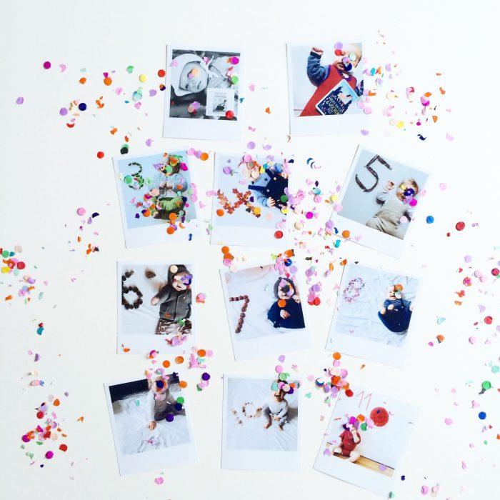 Babys erstes Jahr Fotoideen Erinnerungen Fotos