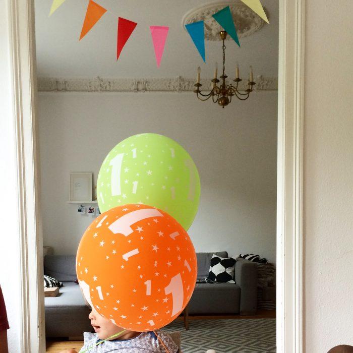 Dekoration Babys erster Geburtstag