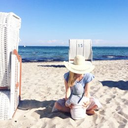 Mom Outfit Sommer und ein Tag am Meer