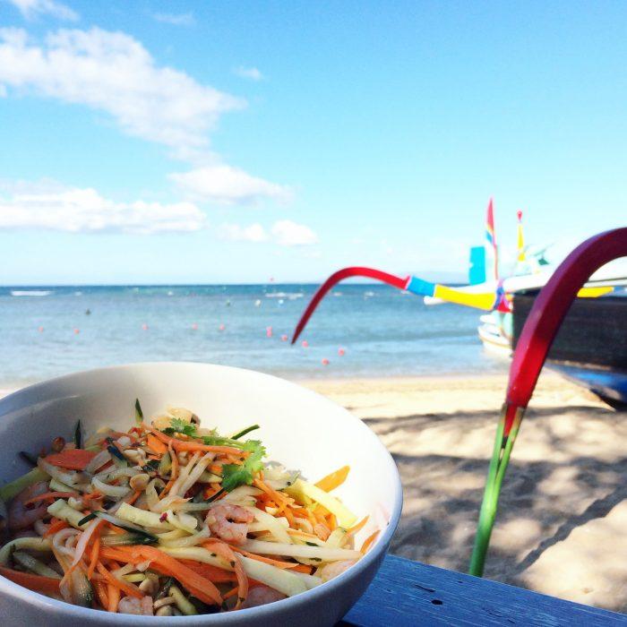 sanur beach bali lunch