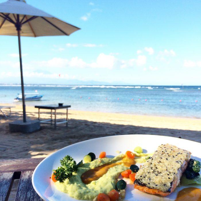 sanur beach segara bali food