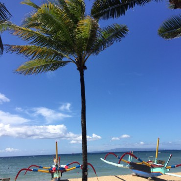 sanur beach strand