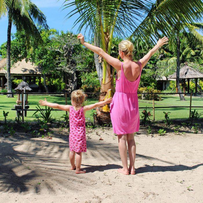 elternzeit auf Bali bali mit kind