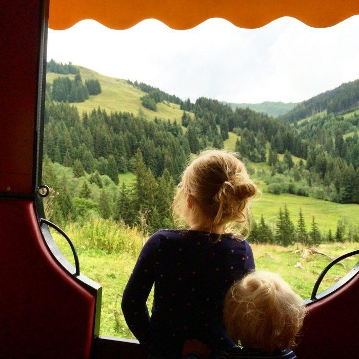 mit kindern in den bergern