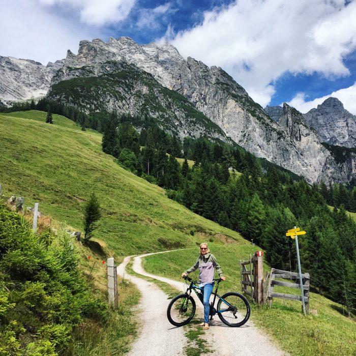 aktiv urlaub berge mountainbike goretex