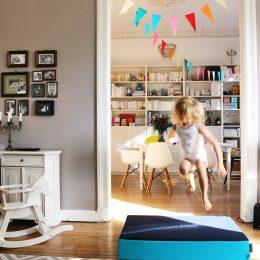 Über Tische und Bänke – wie Toben in der Bude richtig Spass macht