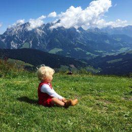 Was mache ich mit Kindern in den Bergen? Ein paar Tipps