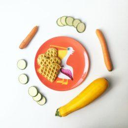 Was Baby isst – Rezept für herzhafte Waffeln