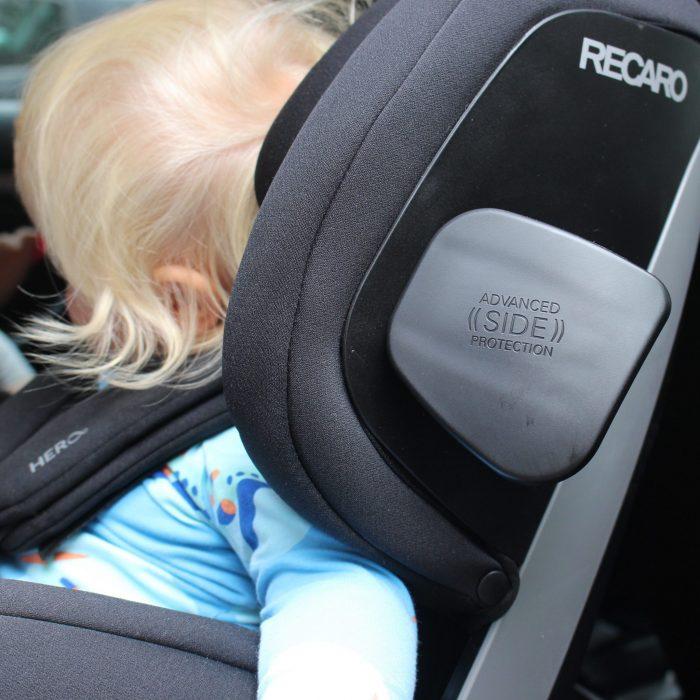 Zero.1 - RECARO Kindersitz - Gruppe 0+:I Seitenaufprallschutz