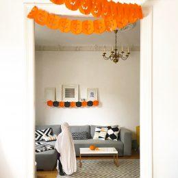 HUHUUHHH!!! – Einfache Halloween Party Dekoration