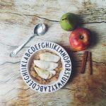 Nicht nur für Kleinkinder: Kartoffelmaultaschen mit Apfel-Birnen-Ragout