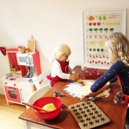 Winterlicher Küchenzauber mit Kindern & Tchibo