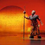 Hinter den Kulissen beim Musical König der Löwen