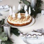 Easypeasy Bratapfeltorte und unser Weihnachtstisch