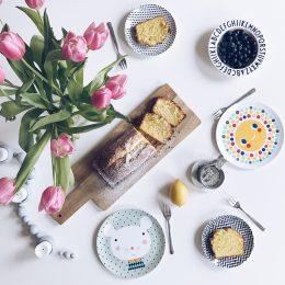 Ganz einfacher Zitronenkuchen für Frühlingsgefühle