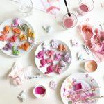 Selbstgemachter Osterschmuck und easy peasy Salzteigrezept