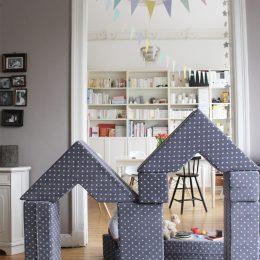 Bude, Tisch, Stuhl, Balancierstange, Tunnel – ja, wir haben neues Spielzeug: eins