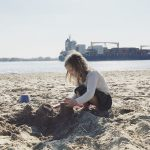 Frühlingsstyles an der Elbe und ein Tag am Strand