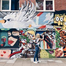 Kunst mit Kind – ein Hamburger Streetart Walk für Familien