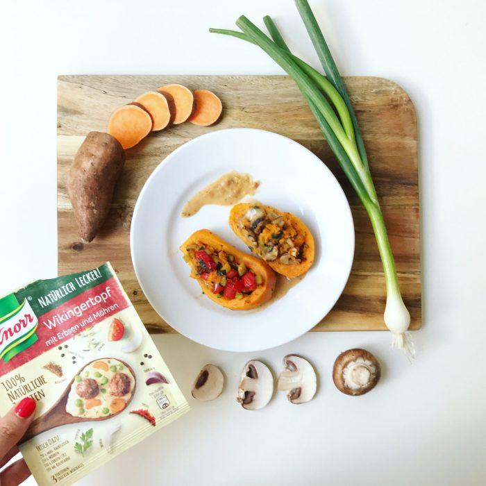 Knorr Fix Wikingertopf für Süßkartoffeln