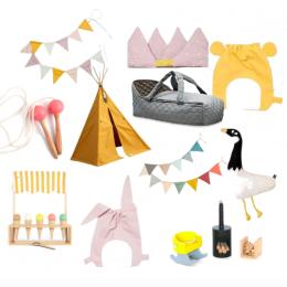 Geschenkideen für den 5. Geburtstag und Tipi-Verlosung von kyddo Shop