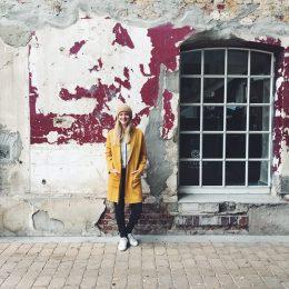 Meine Herbst Mode – es darf ein bisschen Senf sein