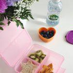Ein paar leicht umsetzbare Ideen für die Brotbox und warum ich den Kids Mineralwasser mitgebe