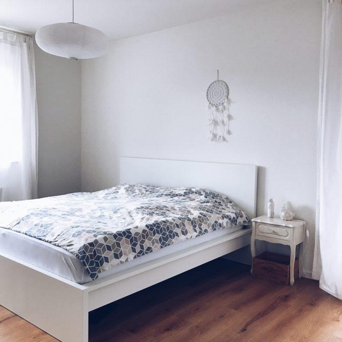 Unser Neues Schlafzimmer Gemütlich Nordisch Und Klar Sarahplusdrei