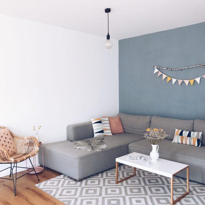 unser skandinavisches wohnzimmer einfache dekoideen sarahplusdrei. Black Bedroom Furniture Sets. Home Design Ideas