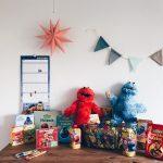 4. Adventsverlosung: großes Sesamstraßen Paket für euch!