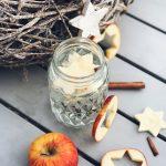 Winter Infused Water - Schönes für die Weihnachtstafel und Vitaminkick gegen Erkältungen