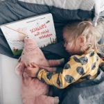 Schwups will nicht schlafen - das kenn' ich irgendwo her. Eine Buchempfehlung.