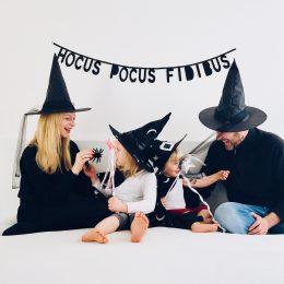 Hexenparty mit Buffetideen, Spielen und der kleinen Hexe