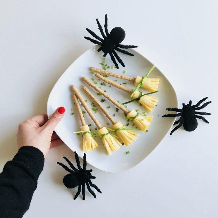 Hexe Hexenbesen Besen Spinnen