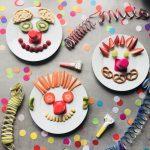 Die Clowns sind los - kleine, gesunde Snacks für Kinder