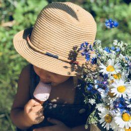 Sommer, Sonne, selbstgemachtes Eis für Kinder