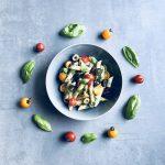 Schmeckt nach Italien - schneller und einfacher Nudelsalat
