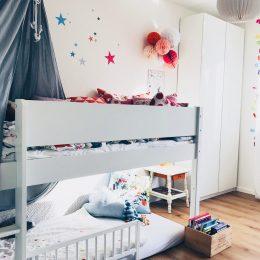 Warum haben unsere Kinder gemeinsame Spiel- und Schlafzimmer?