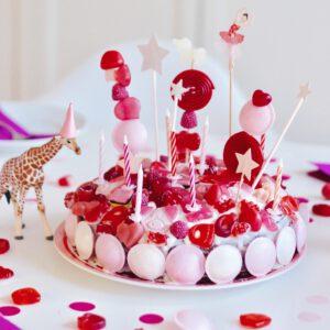 Kinder-Geburtstagskuchen oder Candy Cake Explosion
