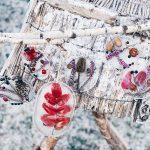Ein Wintertag -  von Eisbildern und Entschleunigung im Familienalltag