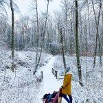 Ein Tag im Schnee und die Frage: ist blau machen eigentlich mal ok?