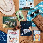 Bücher und Spiele für unterwegs - kleine  Geschenke für Kinder