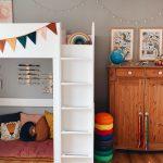 Endlich Schulkind: ein eigenes Zimmer mit Hochbett und Schreibtisch