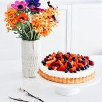 Erdbeer- oder Himbeertorte in 10 Minuten ganz ohne Backen